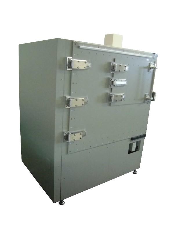 シールドボックス・電波暗箱の製作事例_大型シールドボックス_車載無線部品通信用シールドボックス