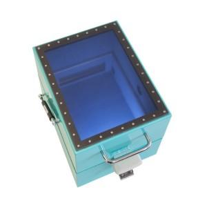 シールドボックス・電波暗箱のオプション_シールドウィンドウ(透過窓)