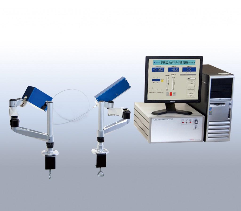 ガイドワイヤー伝達特性測定機