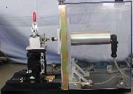 モータトルク測定機_コギングトルク測定ベンチ_センサに取付①