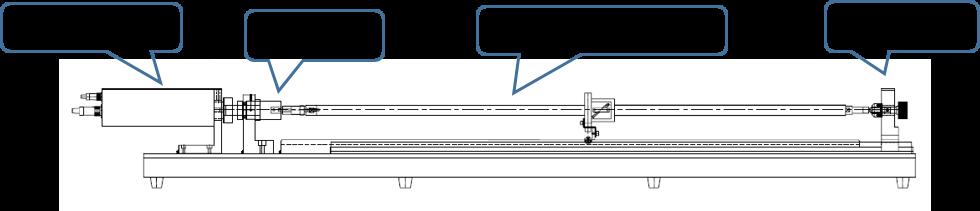 ボールねじのトルク測定機_外観の装置機構部