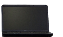 温湿度環境対応モータトルク総合測定機のノートPC