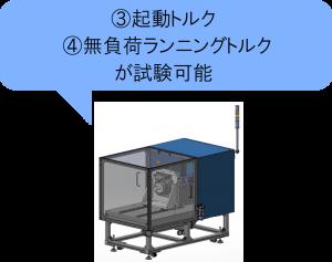 減速機伝達特性測定機④