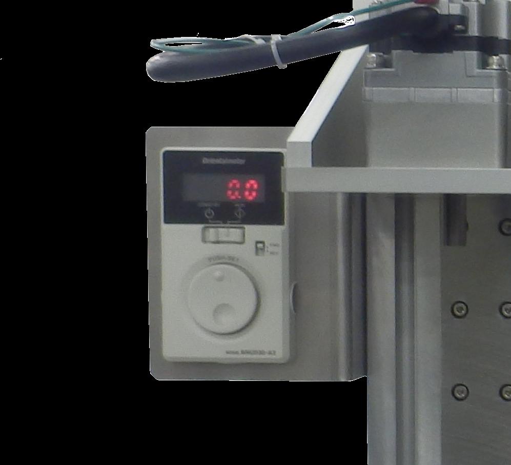 ダンパー・ヒンジトルク測定機のスピードコントロールユニット