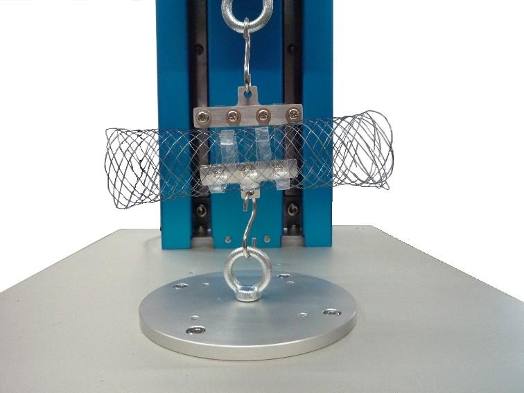 ステントグラフト機械的特性測定機
