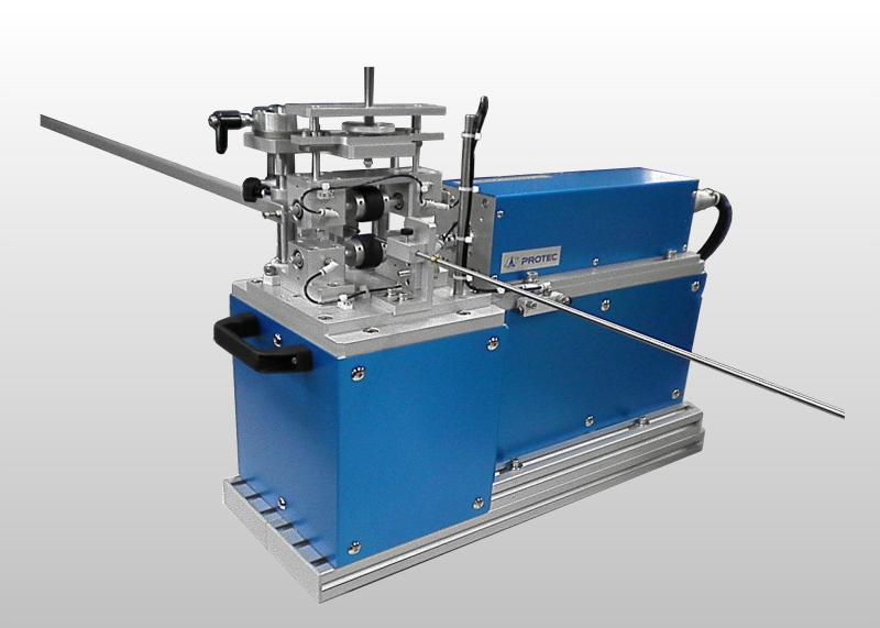 ガイドワイヤー摺動応力測定機