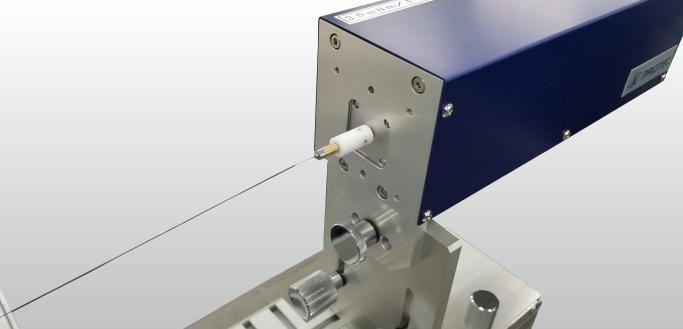 ガイドワイヤー非接触型伝達特性測定機_手元側センサ